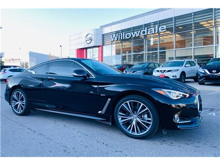 2019 Infiniti Q60 3.0t LUXE (Stk: H8697A) in Thornhill - Image 1 of 22
