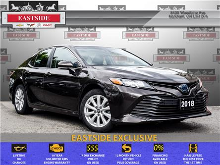 2018 Toyota Camry Hybrid LE (Stk: 003042B) in Markham - Image 1 of 29