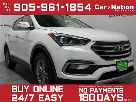 2018 Hyundai Santa Fe Sport  (Stk: 5XYZUD) in Burlington - Image 1 of 35