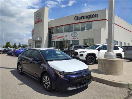 2021 Toyota Corolla Hybrid Base w/Li Battery (Stk: 21002) in Bowmanville - Image 1 of 7