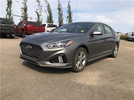 2018 Hyundai Sonata 2.4 Sport (Stk: 20EX009B) in Ft. Saskatchewan - Image 1 of 22
