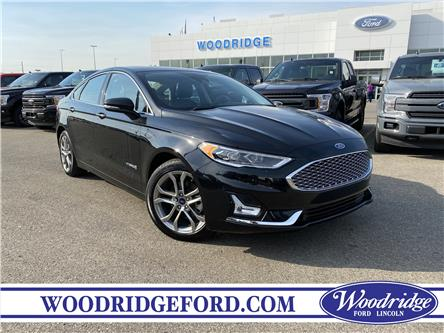 2019 Ford Fusion Hybrid Titanium (Stk: 17609) in Calgary - Image 1 of 24