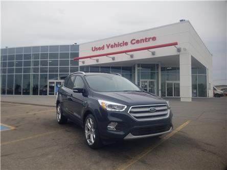 2019 Ford Escape Titanium (Stk: U204197) in Calgary - Image 1 of 28