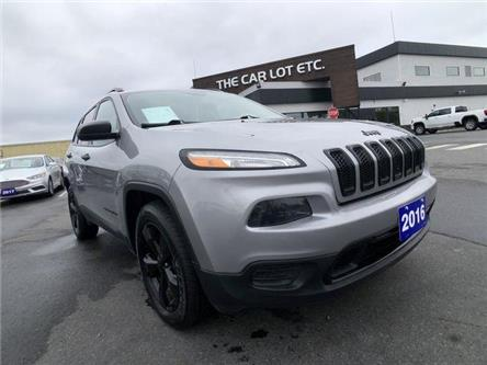 2016 Jeep Cherokee Sport (Stk: 19684-1) in Sudbury - Image 1 of 24