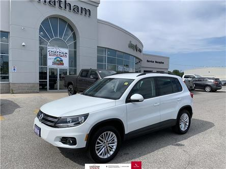 2016 Volkswagen Tiguan  (Stk: U04605) in Chatham - Image 1 of 21