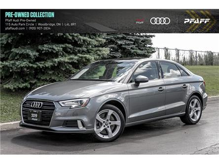 2019 Audi A3 45 Komfort (Stk: C7794) in Woodbridge - Image 1 of 22