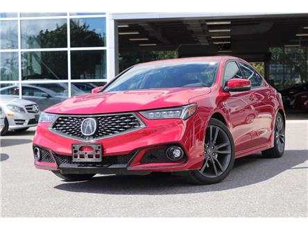 2019 Acura TLX Tech A-Spec (Stk: 19280A) in Ottawa - Image 1 of 25
