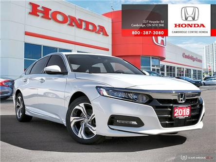 2018 Honda Accord EX-L (Stk: U5024) in Cambridge - Image 1 of 27