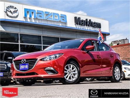 2016 Mazda Mazda3 Sport GS (Stk: P2004) in Markham - Image 1 of 26