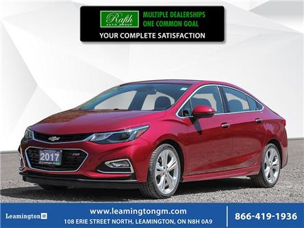 2017 Chevrolet Cruze Premier Auto (Stk: U4510) in Leamington - Image 1 of 30