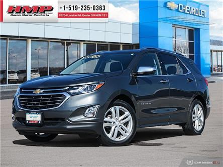 2018 Chevrolet Equinox Premier (Stk: 77499) in Exeter - Image 1 of 27