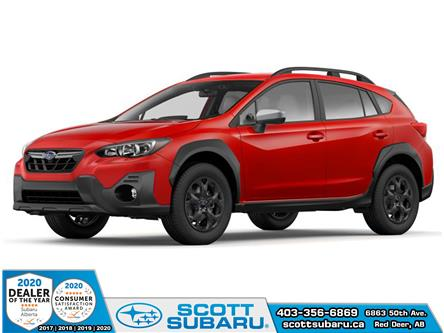 2021 Subaru Crosstrek Outdoor (Stk: 208876) in Red Deer - Image 1 of 2