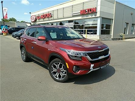 2021 Kia Seltos SX Turbo (Stk: 115513) in Milton - Image 1 of 17