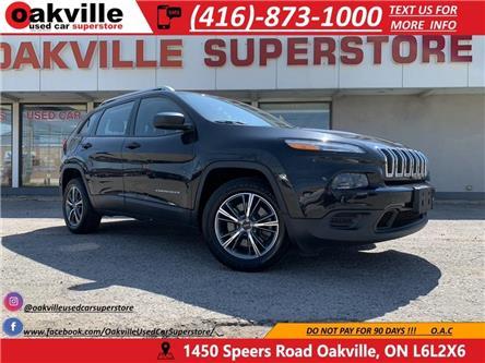 2014 Jeep Cherokee SPORT | B U CAM | BLUETOOTH | ALLOYS (Stk: P0126) in Oakville - Image 1 of 21