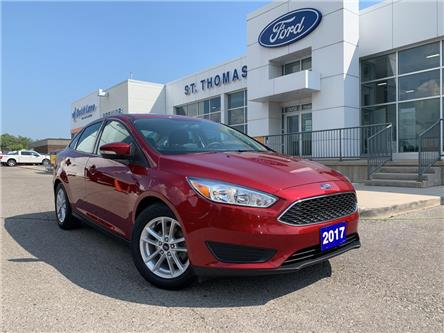 2017 Ford Focus SE (Stk: S0417A) in St. Thomas - Image 1 of 23