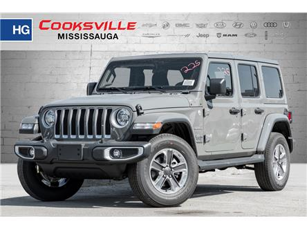 2021 Jeep Wrangler Unlimited Sahara (Stk: MW516357) in Mississauga - Image 1 of 20