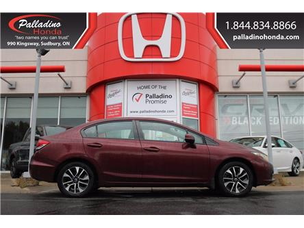 2013 Honda Civic EX (Stk: BC0055A) in Greater Sudbury - Image 1 of 17