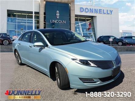 2013 Lincoln MKZ Hybrid Base (Stk: CLDT1137A) in Ottawa - Image 1 of 28