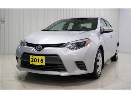 2015 Toyota Corolla LE (Stk: P5665A) in Sault Ste. Marie - Image 1 of 17