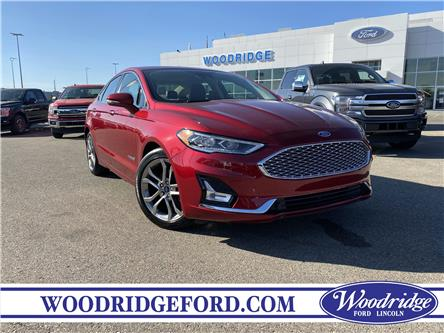 2019 Ford Fusion Hybrid Titanium (Stk: 17611) in Calgary - Image 1 of 23