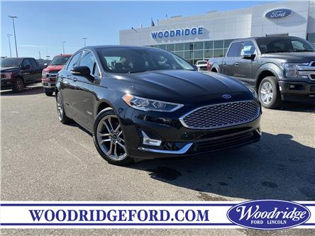 2019 Ford Fusion Hybrid Titanium (Stk: 17616) in Calgary - Image 1 of 23
