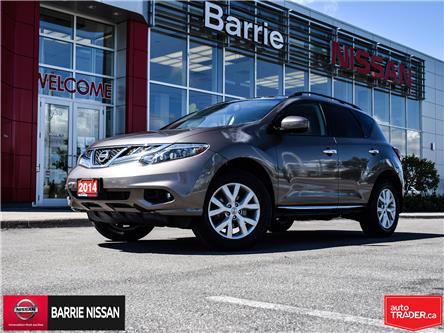 2014 Nissan Murano SL (Stk: 20387A) in Barrie - Image 1 of 30