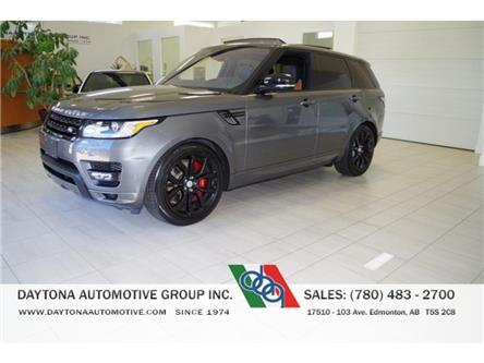2016 Land Rover Range Rover Sport V8 Supercharged (Stk: 4297) in Edmonton - Image 1 of 19