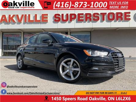 2016 Audi A3 QUATTRO | 2.0T | BLUETOOTH | LEATHER | SUNROOF (Stk: P0044) in Oakville - Image 1 of 21