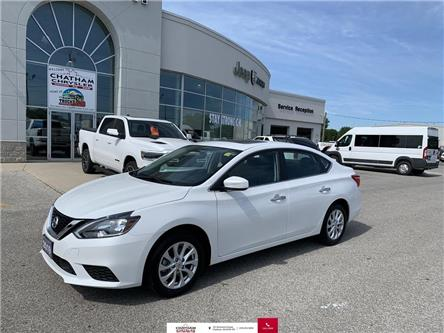 2019 Nissan Sentra  (Stk: U04618) in Chatham - Image 1 of 21