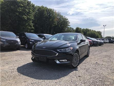 2018 Ford Fusion Energi Platinum (Stk: ES20683A) in Barrie - Image 1 of 16