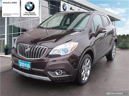 2016 Buick Encore Leather (Stk: U0198) in Sudbury - Image 1 of 26