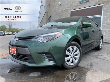 2015 Toyota Corolla LE KEYLESS, HEATED SEATS, BACK UP CAMERA, BLUETOOT (Stk: 47135A) in Brampton - Image 1 of 23