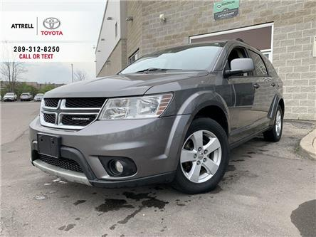 2012 Dodge Journey SXT FWD ALLOYS, FOG, PWR SEAT, PUSH BUTTON START, (Stk: 47517A) in Brampton - Image 1 of 24