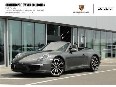 2014 Porsche 911 Carrera Cabriolet (991) w/PDK (Stk: U8952) in Vaughan - Image 1 of 17