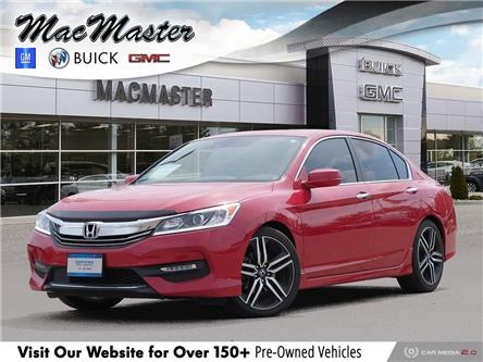 2017 Honda Accord Sport (Stk: 20136AA) in Orangeville - Image 1 of 30
