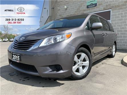 2015 Toyota Sienna LE 8 PASS, ALLOYS, POWER SLIDDING DOORS, ROOF RACK (Stk: 47899A) in Brampton - Image 1 of 22