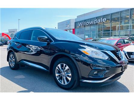2017 Nissan Murano SL (Stk: N862B) in Thornhill - Image 1 of 14