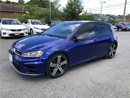 2017 Volkswagen Golf R 2.0 TSI (Stk: 20169) in Ottawa - Image 1 of 25