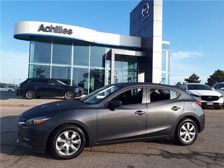 2017 Mazda Mazda3 Sport GX (Stk: H2140A) in Milton - Image 1 of 11