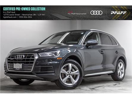 2018 Audi Q5 2.0T Progressiv (Stk: 53666) in Newmarket - Image 1 of 22