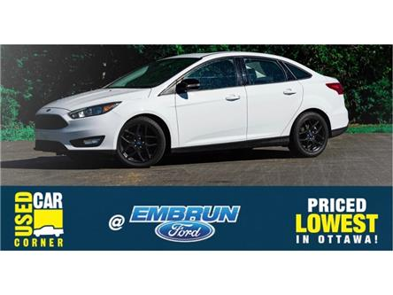 2018 Ford Focus SEL (Stk: U2099) in Embrun - Image 1 of 27