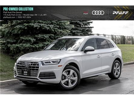 2019 Audi Q5 45 Progressiv (Stk: C7823) in Woodbridge - Image 1 of 22