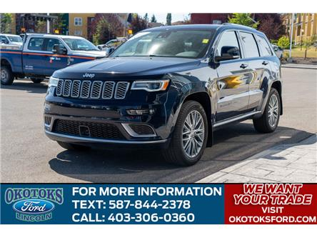 2018 Jeep Grand Cherokee Summit (Stk: B81727) in Okotoks - Image 1 of 26
