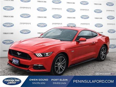 2017 Ford Mustang GT Premium (Stk: 20MU06A) in Owen Sound - Image 1 of 23