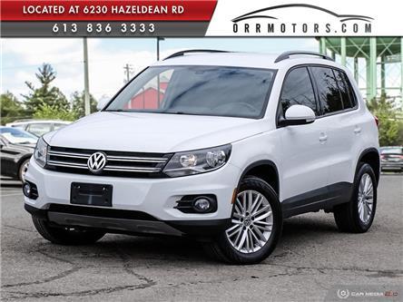 2016 Volkswagen Tiguan Special Edition (Stk: 6169) in Stittsville - Image 1 of 27