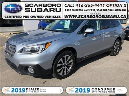 2016 Subaru Outback  (Stk: G3315547) in Scarborough - Image 1 of 25