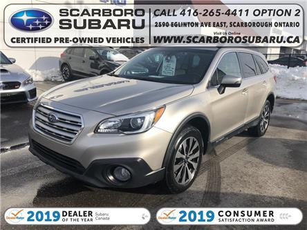 2017 Subaru Outback 3.6R Limited (Stk: H3274736) in Scarborough - Image 1 of 22