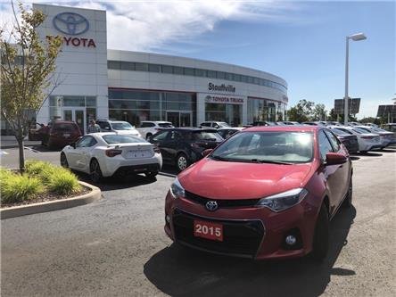 2015 Toyota Corolla S (Stk: P2270) in Whitchurch-Stouffville - Image 1 of 14