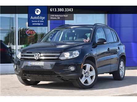 2016 Volkswagen Tiguan Comfortline (Stk: A0270) in Ottawa - Image 1 of 28