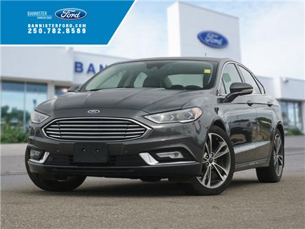 2017 Ford Fusion Titanium (Stk: S202431A) in Dawson Creek - Image 1 of 17